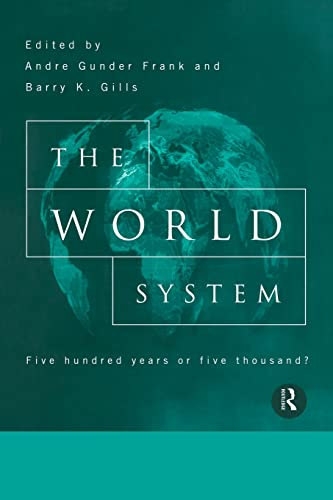 9780415150897: The World System: Five Hundred Years or Five Thousand?
