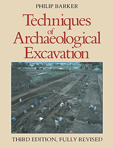 9780415151528: Techniques of Archaeological Excavation