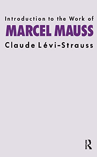 9780415151580: Introduction to the Work of Marcel Mauss