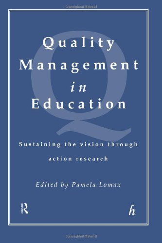 9780415152532: Quality Management In Education: Sustaining the Vision Through Action Research