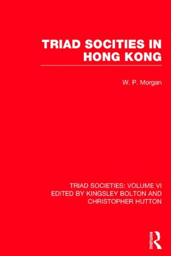 9780415153539: Triad Societies: Western Accounts of the History, Sociology and Linguistics of Chinese Secret Societies (Colonial Encounters)