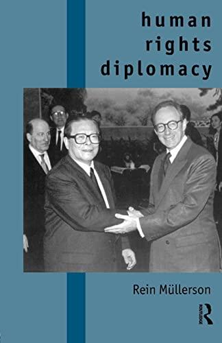 9780415153911: Human Rights Diplomacy