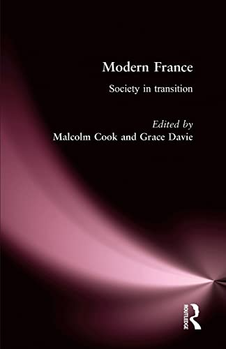 9780415154321: Modern France: Society in Transition