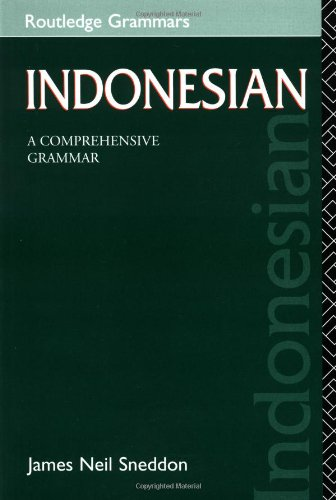 9780415155298: Indonesian: A Comprehensive Grammar (Routledge Comprehensive Grammars)