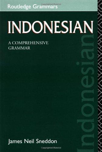 9780415155298: Indonesian: A Comprehensive Grammar (Routledge Comprehensive Grammars)