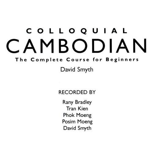 9780415155380: Colloquial Cambodian (Colloquial Series)