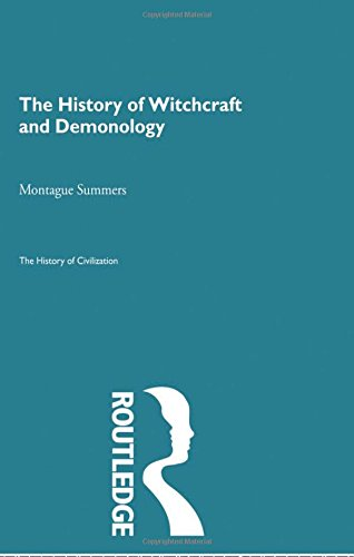 9780415155687: The History of Witchcraft and Demonology (The History of Civilization) (Volume 27)
