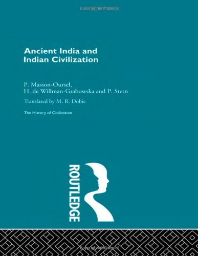 9780415155939: Ancient India and Indian Civilization (History of Civilization)