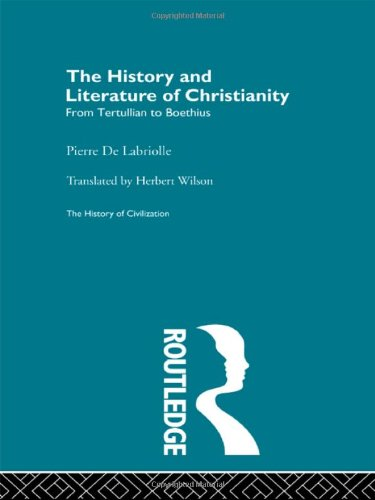 9780415155991: The History and Literature of Christianity (History of Civilization)