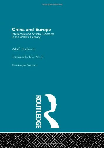9780415156097: History of Civilization: China and Europe