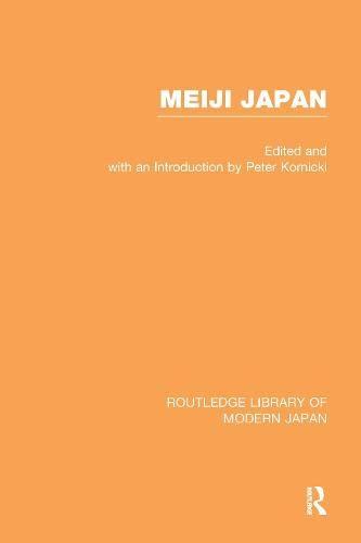 9780415156196: Meiji Japan                V 1 (Vol.1)