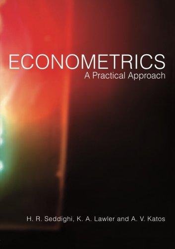 9780415156455: Econometrics: A Practical Approach