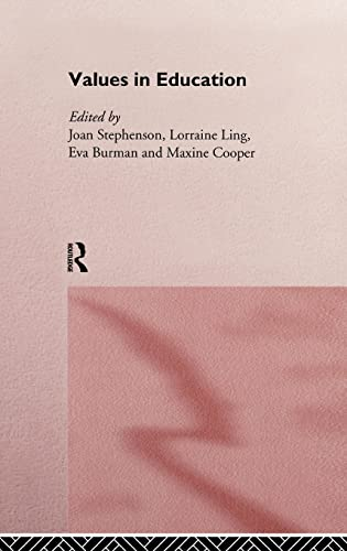 9780415157377: Values in Education