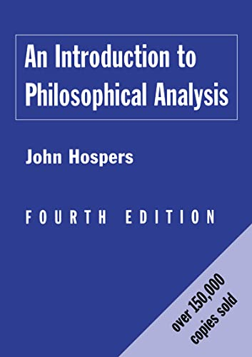 9780415157926: An Introduction to Philosophical Analysis