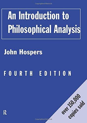 9780415157933: An Introduction to Philosophical Analysis