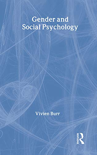 9780415158145: Gender and Social Psychology (Psychology Focus)