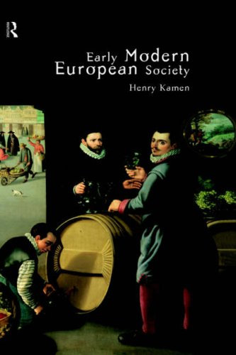 9780415158640: Early Modern European Society