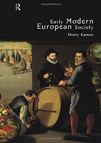 9780415158657: Early Modern European Society