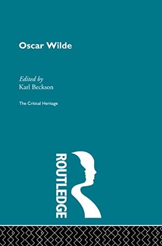 9780415159524: Modern Dramatists: Oscar Wilde