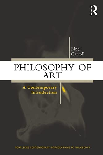 9780415159647: Philosophy of Art: A Contemporary Introduction (Routledge Contemporary Introductions to Philosophy)