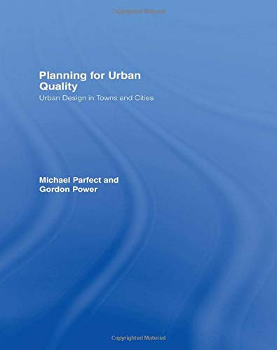 9780415159678: Planning for Urban Quality: Urban Design in Towns and Cities