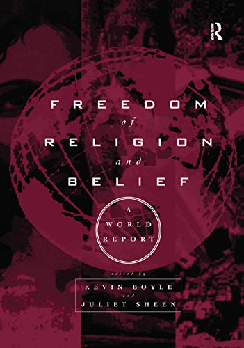 9780415159777: Freedom of Religion and Belief: A World Report