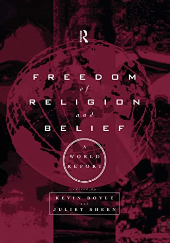 9780415159784: Freedom of Religion and Belief: A World Report