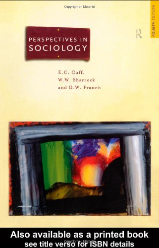 9780415159791: Perspectives in Sociology: Classical and Contemporary