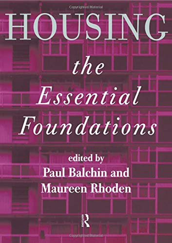 9780415160087: Housing: The Essential Foundations
