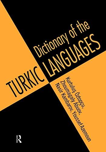 Dictionary of the Turkic Languages English: Azerbaijani,: OZTOPCU (Kurtulus) et