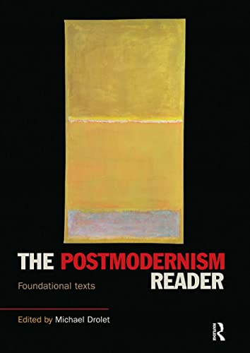 9780415160841: The Postmodernism Reader: Foundational Texts (Routledge Readers in History)