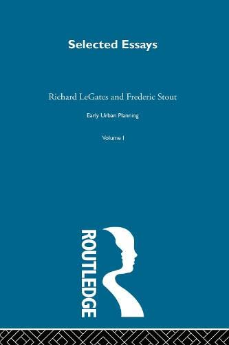 9780415160865: Early Urban Planning V 1