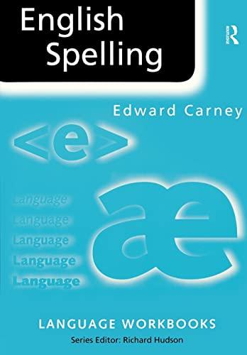 9780415161091: English Spelling (Language Workbooks)