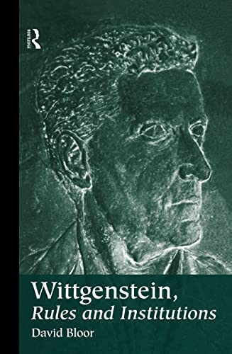 9780415161473: Wittgenstein, Rules and Institutions