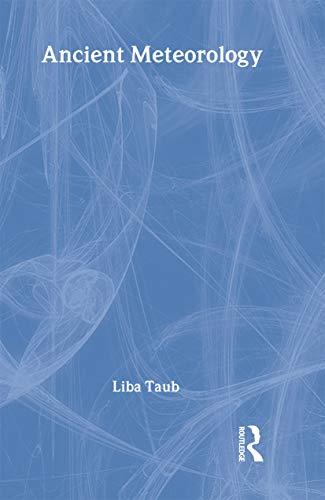 Ancient Meteorology: Taub, Liba