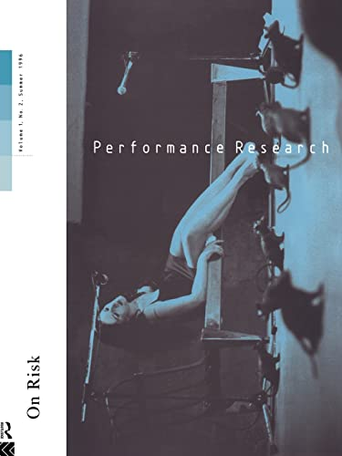 9780415162098: Performance Research V1 Issu 2: Volume 1 (Performance Research No. 1)