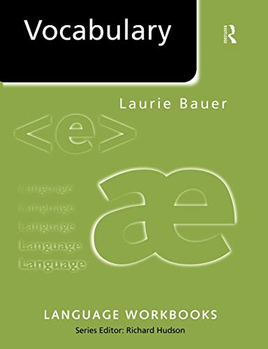 Vocabulary (Paperback): Laurie Bauer