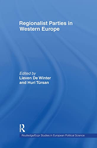 Regionalist Parties in Western Europe: DE WINTER, LIEVEN;