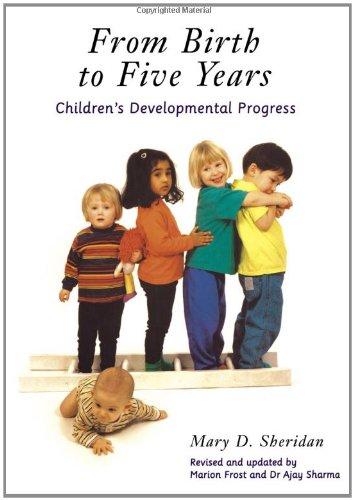 9780415164580: From Birth to Five Years: Children's Developmental Progress