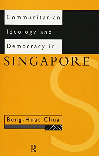 9780415164658: Communitarian Ideology and Democracy in Singapore (Politics in Asia)
