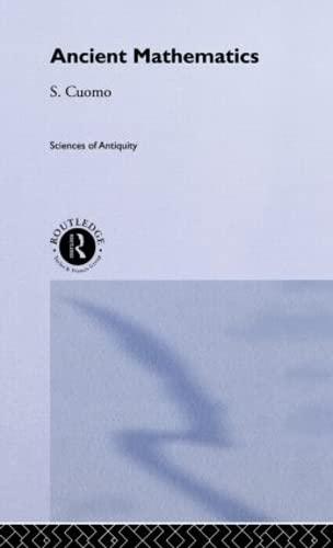 9780415164948: Ancient Mathematics (Sciences of Antiquity Series)