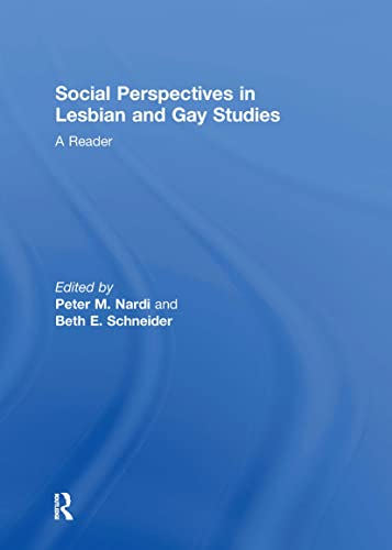 9780415167086: Social Perspectives in Lesbian and Gay Studies: A Reader