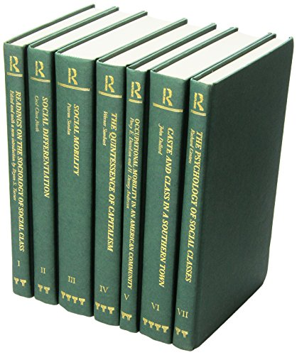 9780415167208: Early Sociology of Class (Making of Sociology) (7 Volume Set)