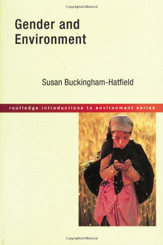 9780415168199: Gender and Environment (Routledge Introductions to Environment: Environment and Society Texts)