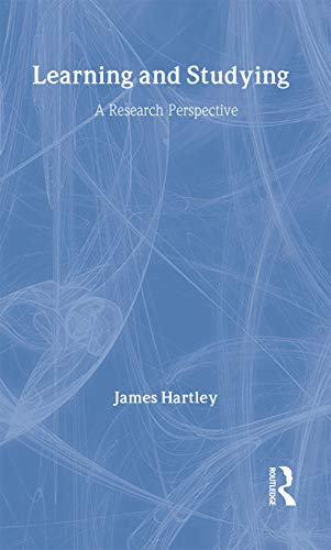 9780415168519: Learning and Studying: A Research Perspective (Psychology Focus)