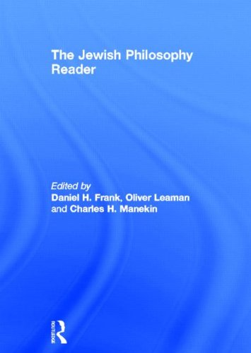 9780415168595: The Jewish Philosophy Reader