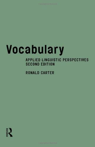 9780415168632: Vocabulary: Applied Linguistic Perspectives