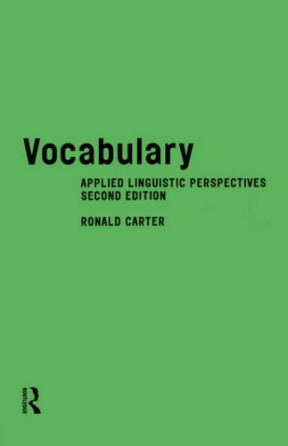 9780415168649: Vocabulary: Applied Linguistic Perspectives