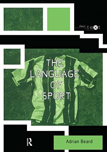 9780415169110: The Language of Sport (Intertext)