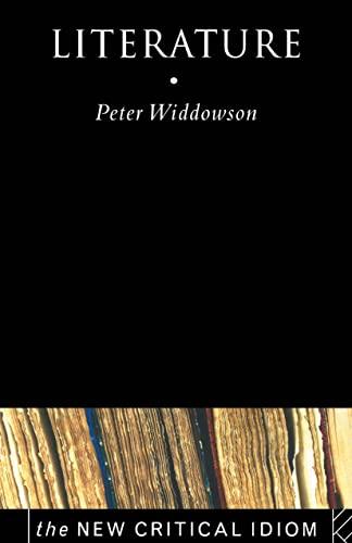 9780415169141: Literature (The New Critical Idiom)